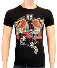 Sleeping Dogs - Burnin' T-Shirt (Large)