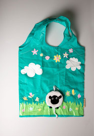 Foldable Shopping Bag - Sheep