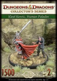 Dungeons & Dragons: Kleef Kenric, Human Paladin