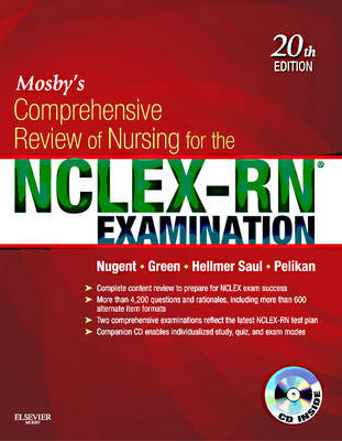 Mosby's Comprehensive Review of Nursing for the NCLEX-RN (R) Examination by Patricia Nugent