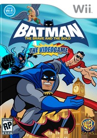 Batman: The Brave and the Bold the Videogame for Nintendo Wii
