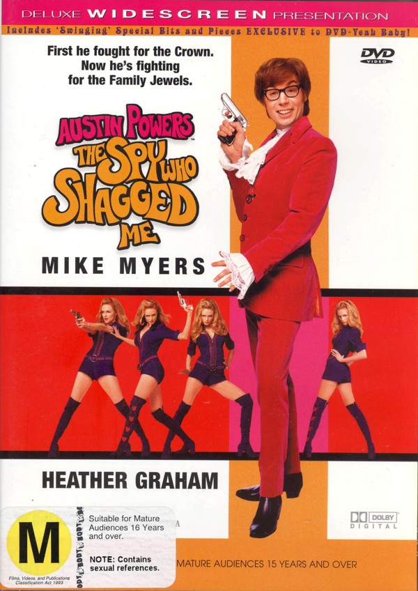 Austin Powers: The Spy Who Shagged Me on DVD image