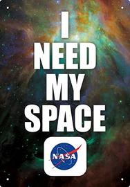 NASA Space Tin Sign