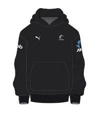 Puma Silver Ferns Youth Sponsor Hoody   Black (128)