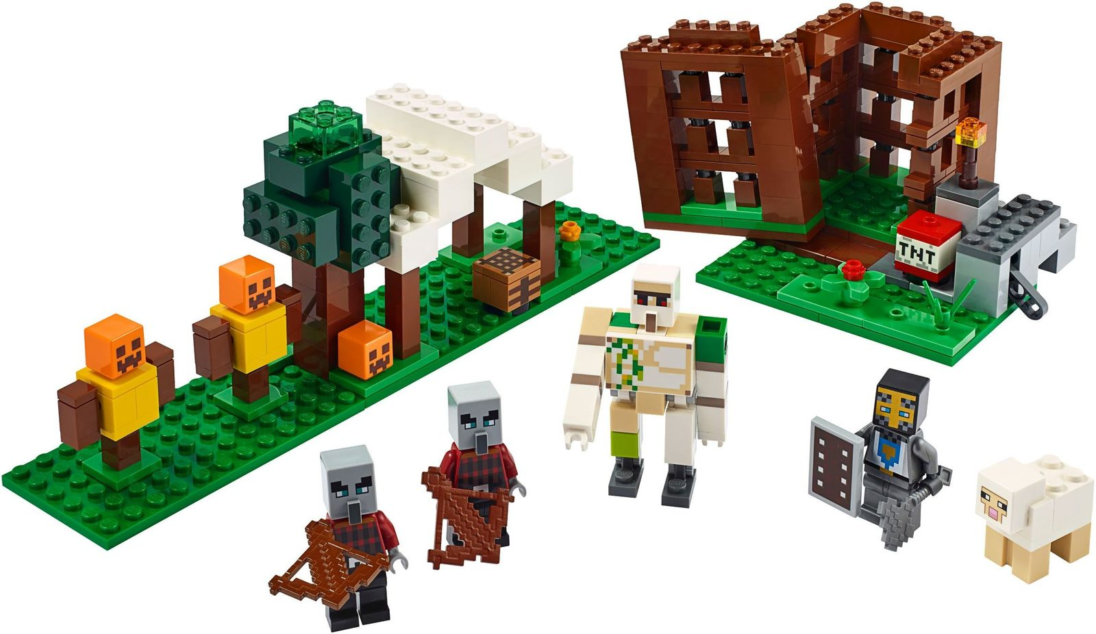 LEGO Minecraft: The Pillager Outpost - (21159) image