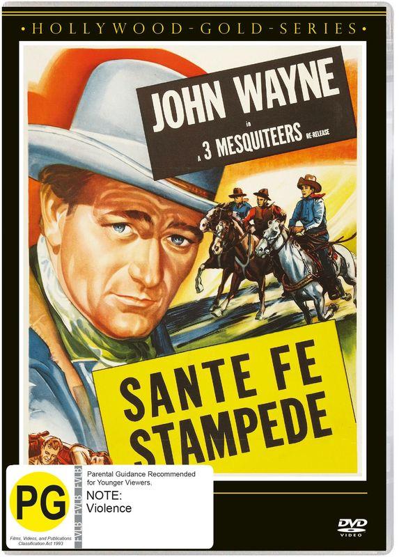 Sante Fe Stampede on DVD