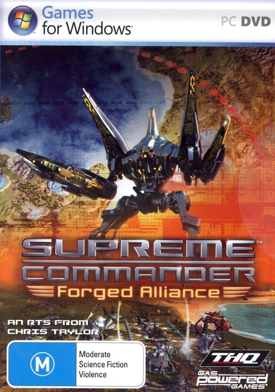 Supreme Commander: Forged Alliance for PC Games