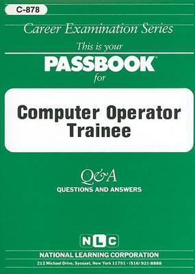 Computer Operator Trainee
