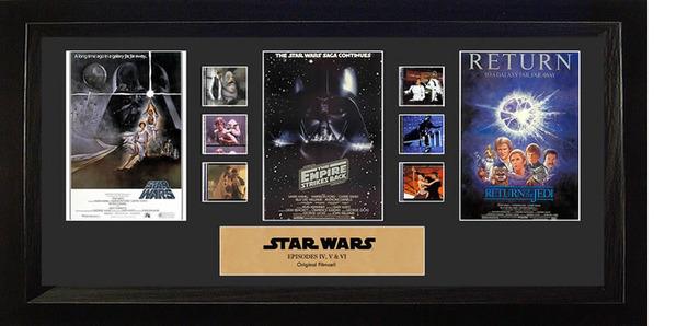 FilmCells: Montage Frame - Star Wars (Original Trilogy)