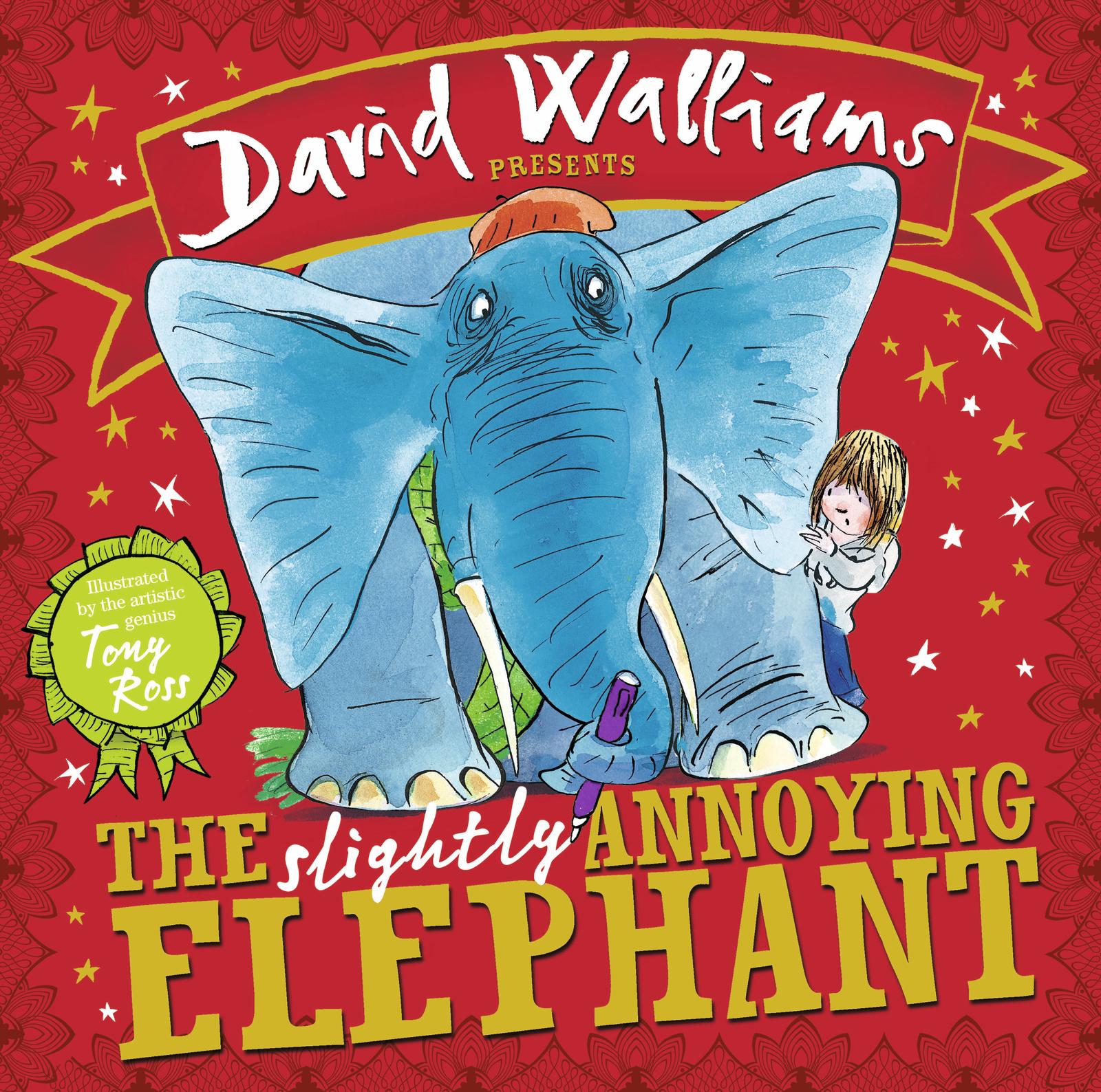 The Slightly Annoying Elephant by David Walliams image