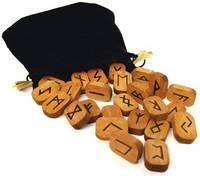 Wooden Runes by Lo Scarabeo