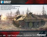 Rubicon 1/56 Jagdpanzer 38(t) Hetzer