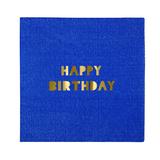 Meri Meri - Happy Birthday Small Napkins (16 Pack)