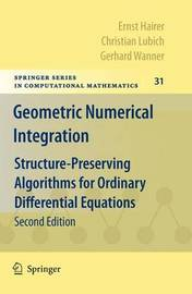 Geometric Numerical Integration by Ernst Hairer image