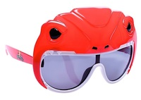 Sunstaches: Lil' Characters Sunglasses - Red Power Ranger
