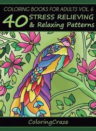 Coloring Books for Adults Volume 6 by Coloringcraze image