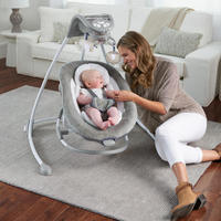 Ingenuity: DreamComfort Inlighten Cradling Swing - Braden