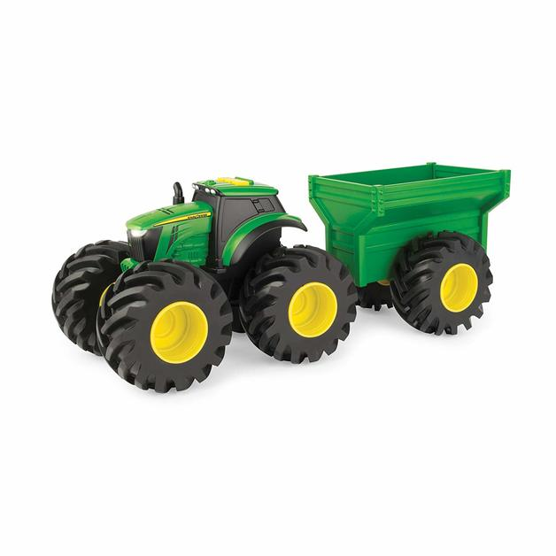 John Deere: Monster Treads Tractor with Gravity Wagon