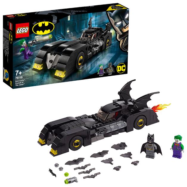 LEGO Super Heroes: Batmobile - Pursuit of The Joker (76119)