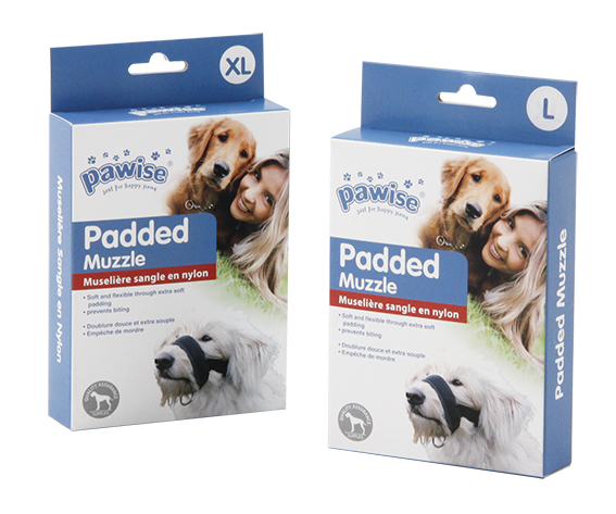 Pawise: Dog Padded Muzzle - X-Large