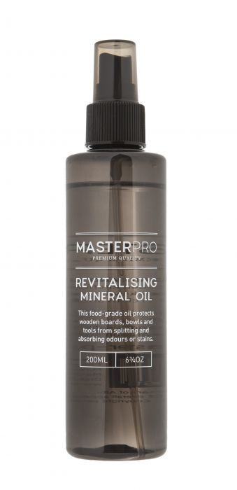 MasterPro: Food Grade Revitalising Mineral Oil (5x5x7.5cm/200ml)