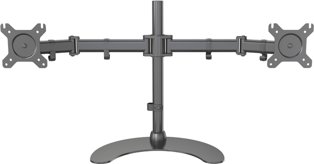 Gorilla Arms Dual Freestanding Monitor Mount