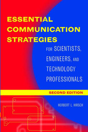 Essential Communication Strategies by Herbert Hirsch image