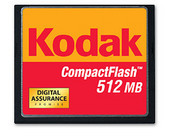 Kodak 512MB Compactflash Picture Card with Case