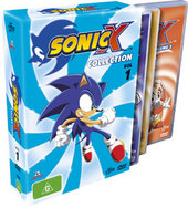 Sonic X - Collection: Vol 1 (3 Disc) on DVD