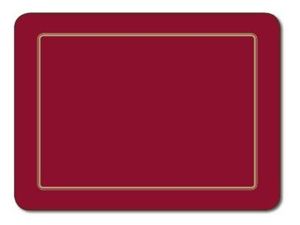 Embassy Red Placemats (Set 6)