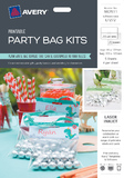 Avery Party Bag Label Kit (20 Labels, 20 Bags)