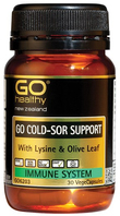 Go Healthy: GO Cold-Sor Support (30 Capsules)