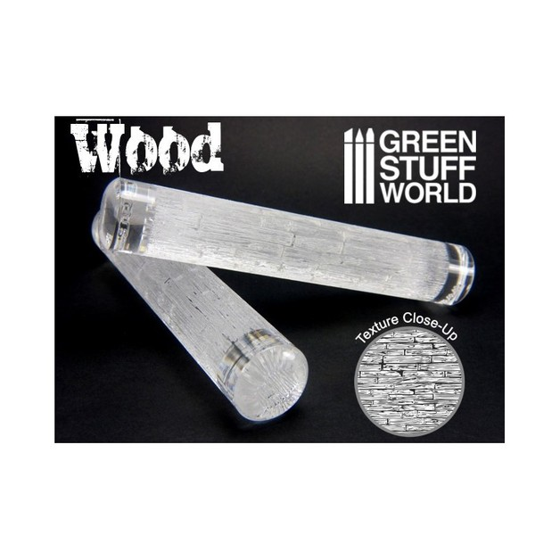 Green Stuff World Texture Rolling Pin: Planks