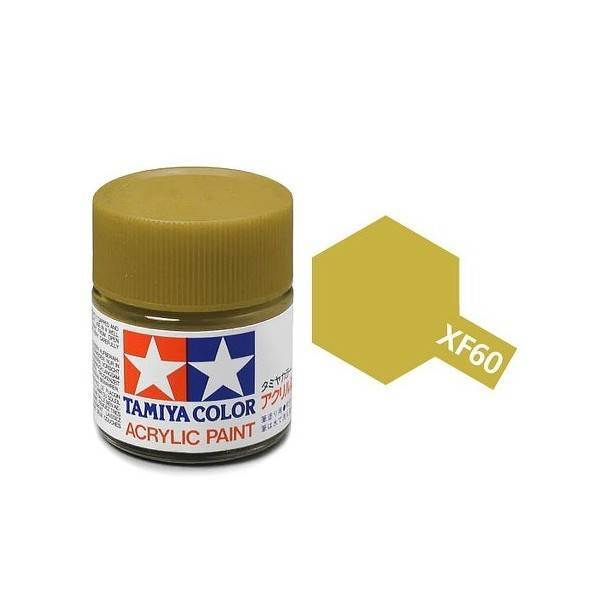 Tamiya Acrylic: Dark Yellow (XF60)