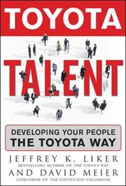 Toyota Talent by Jeffrey K Liker image