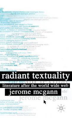 Radiant Textuality by Jerome J McGann image