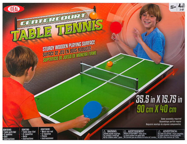 Ideal: Centercourt - Table Tennis