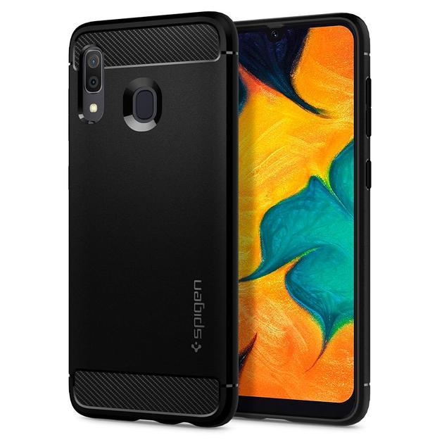 Spigen: Rugged Armor Case for Samsung Galaxy A30 (2019)