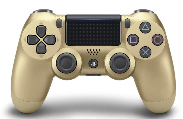 PlayStation 4 DualShock 4 V2 Wireless Controller - Gold for PS4