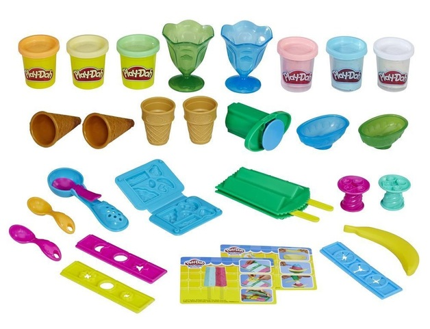 Play-Doh: Kitchen Creations - Ice Cream Party Playset
