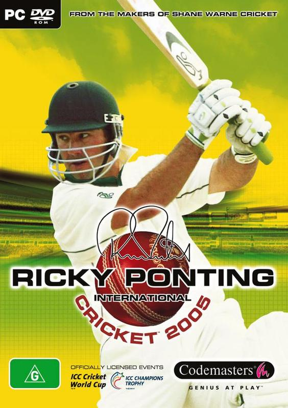 Ricky Ponting Cricket 2005 for PC Games