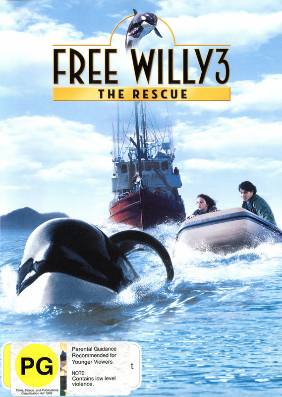 Free Willy 3 on DVD