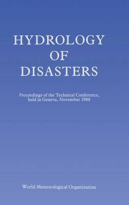 Hydrology of Disasters by O.M. Melder image