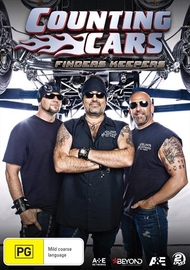 Counting Cars: Finders Keepers on DVD