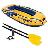 Intex: Challenger M2 - Boat Set