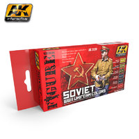 AK Soviet Uniforms Paint Set