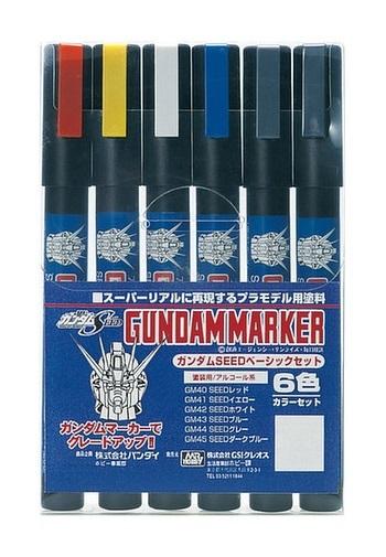 Gundam Marker: Seed Basic Set