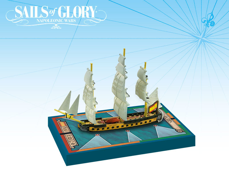 Sails of Glory - SP Sirena 1793 Frigate image