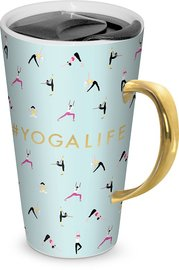 Yoga Life Travel Mug