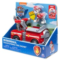 Paw Patrol: Basic Vehicle & Pup - Marshall's Transforming Fire Engine